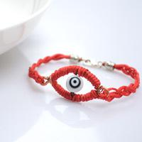 Halloween Evil Eye Bracelet Design - Make Braided Evil Eye Bracelet