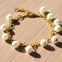 Easy Tutorial about Making Pearl Charm Bracelet