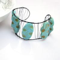 Jewelry Bracelet Design - a Different Way about How to Make Turquoise Bangle