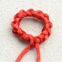 Round Brocade Knot - Beautiful Knot that Can be Used as Bracelet