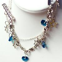 Make Your Own Comely Ocean Style Charm Bracelet in Few Minutes