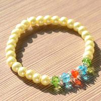 Bracelet Making Instructions - How to Make Jewelry Bracelets with Pearl Beads within 3 Steps