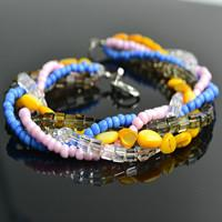 How to Make Bracelets Out of Beads- DIY Seed Bead Woven Bracelet