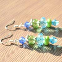 Earring Ideas - How to Make Beaded Dangling Earrings