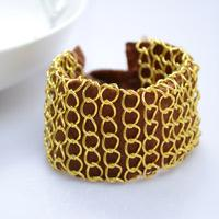 Step-by-Step Photo tutorial on Making Chain Wrap Bracelet