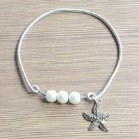 Easy Instruction on Making Pearl Bangle Bracelet