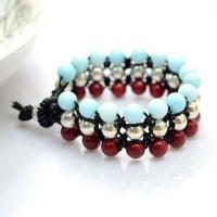Comment Faire Des Bracelets De Noeud Carré Simple Avec Des Perles Jades
