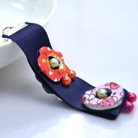 Personalized Tutorial on Making a Beading Ribbon Key Chain Bracelet