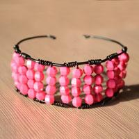 Easy Tutorial on Making Beaded Bangle Bracelet