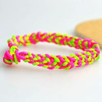 How to Make a Cute Friendship Bracelet with Nylon Threads Easily