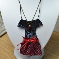 How to Make a Personalized Fabric Chain Necklace with Beads for Girls