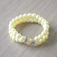 Easy Step to Make Personalized Pearl Bracelet