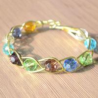 Design Your Own Wire Jewelry-How to Make a 3 Strand Braided Wire Bracelets with Beads
