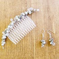 How to make bridal hair accessories- free jewelry tutorials for handmade hairband