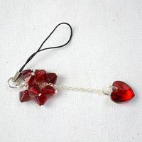 Easy Tutorial on Making Red Bead Mobile Chain