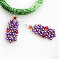 Beaded jewelry designs class-a piece of delicate valentines day gifts for her