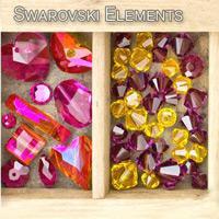 Der funkelnde Swarovski Kristall
