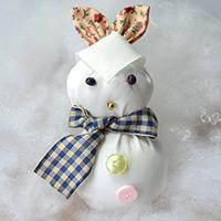 Free Sewing Pattern - How to Make a Cute Stuffed Bunny