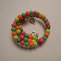 Easy Tutorial on Making a Colorful Beaded Wrap Bracelet with Memory Wire
