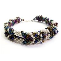 How to Make a Beaded Chevron Bracelet