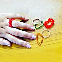 Simple Tutorial on Making Your Own Seed Bead Ring with Nylon Thread