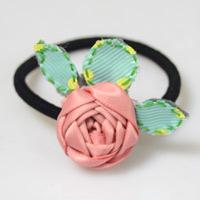 How to Make a Rosette out of Ribbon in Fresh Spring Style
