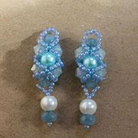 How to Make XOXO Pearl Beaded Drop Earrings for Bridal Party