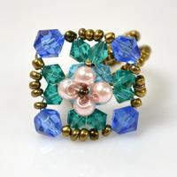 Handmade Beaded Ring-Create Your Unique Ring for Spring