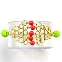How to Make a Chain Link Bracelet with Geometric Embellishment