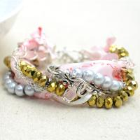 Mix Match Jewelry Ideas on How to Do Multi Strand Braided Bracelets with Chains and Bead Strands
