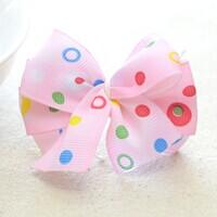 How to Make a Lovely Hair Bow out of Thin Ribbon within 5 minutes