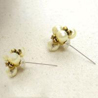 How do You Make Handmade Pearl Stud Earrings Step by Step