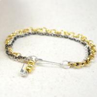 Simple Bracelet Tutorial on Making Triple Chain Style Jewelry in 3 Steps