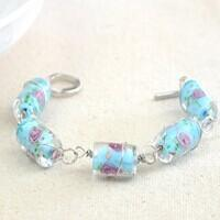 Easy-to-follow Tutorial on How to Make a Lampwork Beaded Wrap around Bracelet