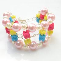 Sweet Jewelry DIY- Making an Easy Wide Beaded Bracelet for Summer