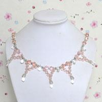 How to Make Affordable Crystal Bead Necklace for Wedding