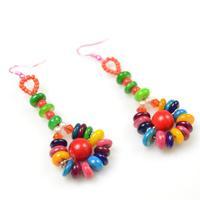 DIY Beach Jewelry-Making Hawaiian Seashell Earrings for Summer