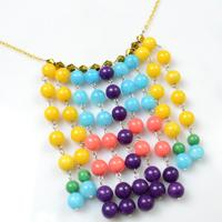Perfect Sundress Partner-Making Your Own Fringe Statement Necklace with Colorful Beads