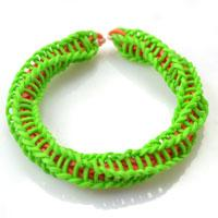 How Do You Make Wrapped &Twisty Rubber Band Bracelet with Loom Kit