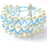 How to Make an Elegant Pearl Cuff Bracelet for Wedding