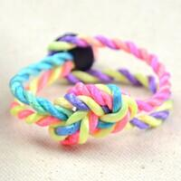 2-Step Tutorial on How to Tie a Sailor Knot Friendship Bracelet with Nylon Threads