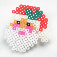 Christmas Hama Beads Designs on How to Make a Santa Claus Ornament
