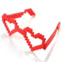 3D Perler Bead Ideas- How to Make Heart Perler Bead Glasses