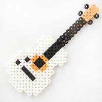 How to Make Your Own Cool Perler Bead Guitar Pattern for Home Decor