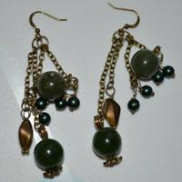 Easy Instructions on How to Make Bronze Dangle Earrings with Chain