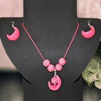 Hot Pink Jewelry Set - How to Make Resin Jewelry at Home