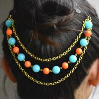 How to Make Your Own Candy Hair Accessories with Beads and Chains
