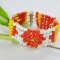 Beaded Bracelet Ideas-How to Make Wide Stitch Beading Bracelet Patterns