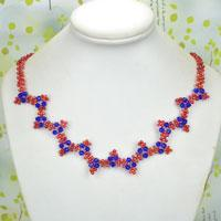 How to Make Elegant Wavy Necklaces with Seed Beads at Home