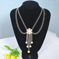 How to Make Easy Flower Bead Chain Necklace in 10 Minutes